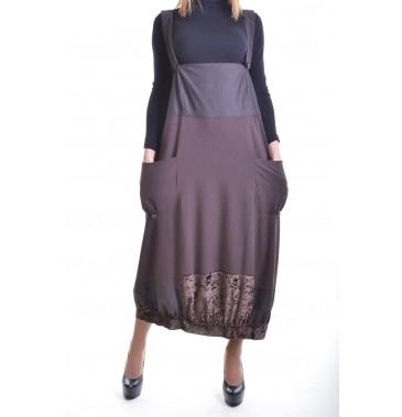 Комбез юбка Darkwin XSA-1010-056