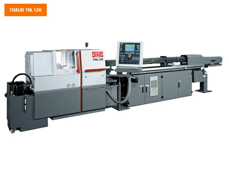 Buy Prutkovy automatic machines and automatic machines of longitudinal turning TRAUB TNL12K