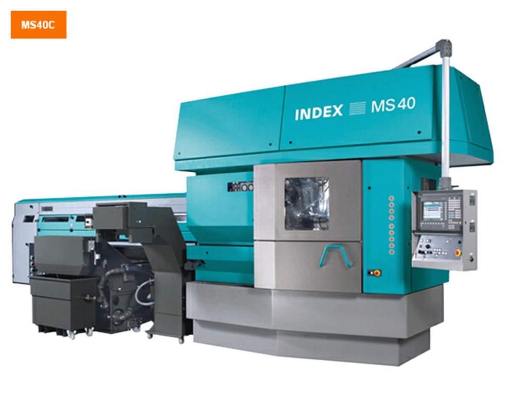 Купить Многошпиндельный автомат с открытой передней частью MS40C