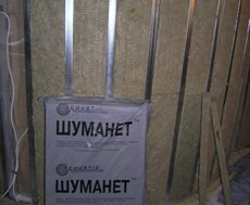 Звукопоглощающая плита из минеральной ваты Шуманет-БМ 50 мм