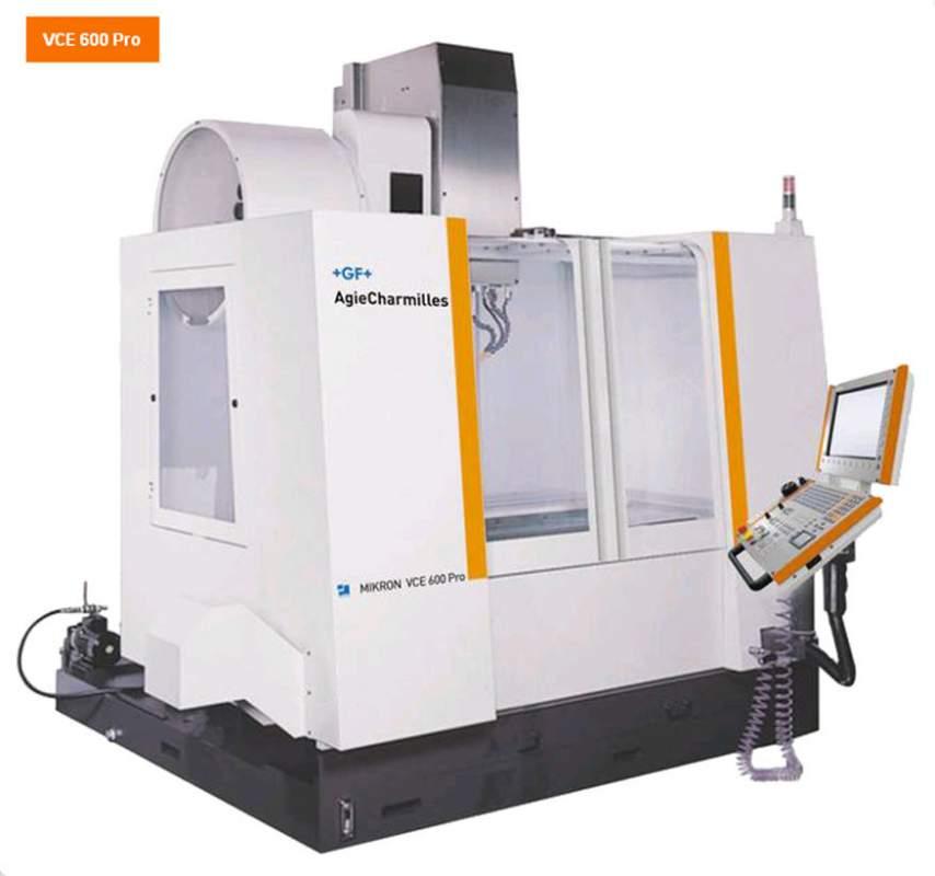 Buy VCE 600 Pro 3-coordinate Mikron machines