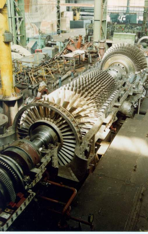 Buy Steam and gas turbines