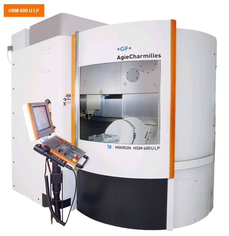 Buy Milling machine five-coordinate Mikron HSM 600 U LP