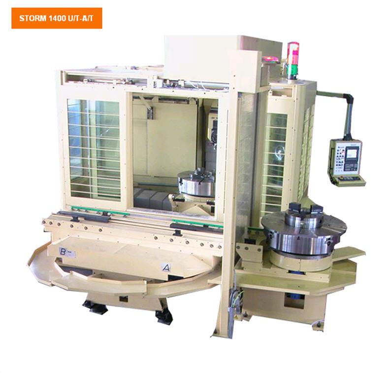 Купить Горизонтальные фрезерные обрабатывающие станки с ЧПУ STORM 1400 U/T-A/T