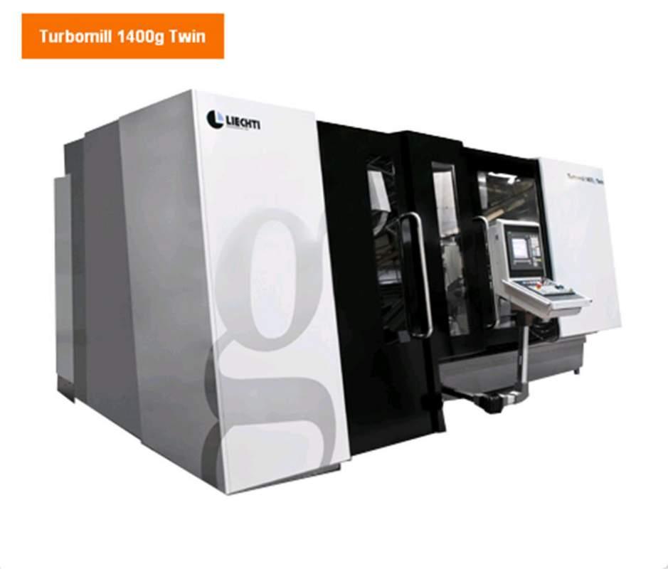 Buy 5-6-coordinate LIECHTI milling machine Turbomill 1400g Twin