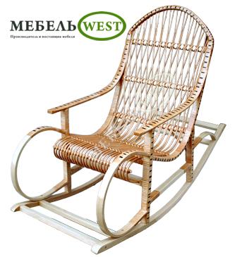 Мебель из лозы, Кресло-качалка Буковая