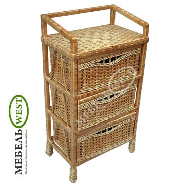 Плетеная мебель из ивы, Комод Простой
