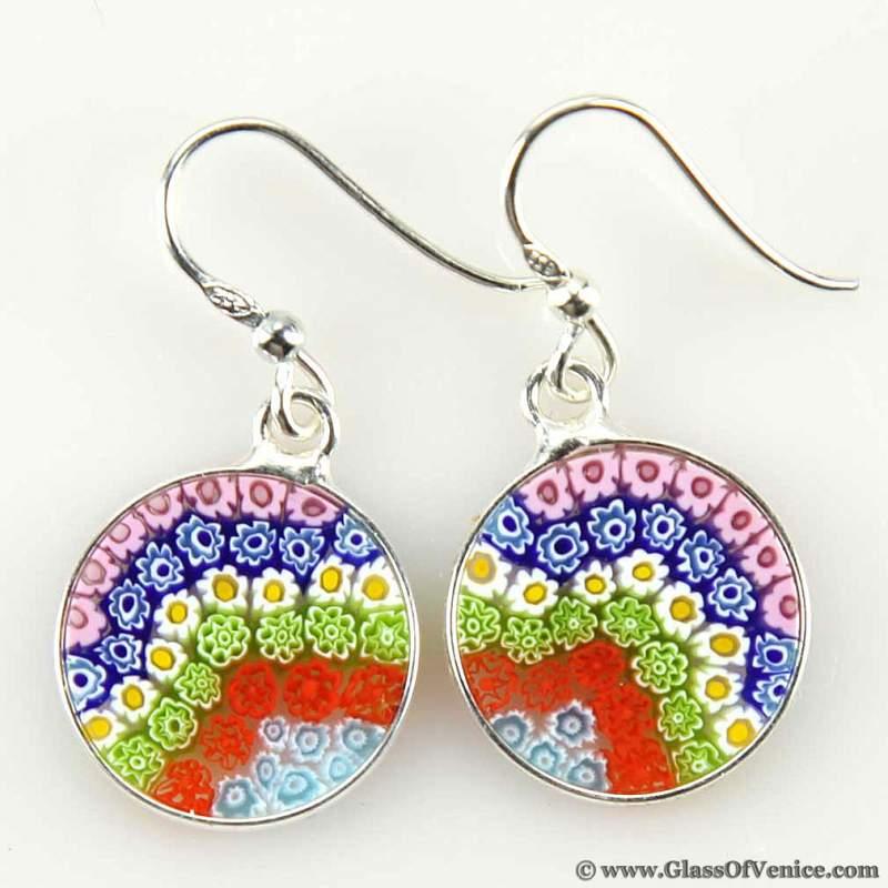 Buy Millefiora earrings