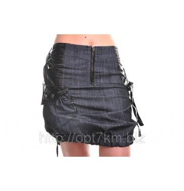 Юбка джинс 4101