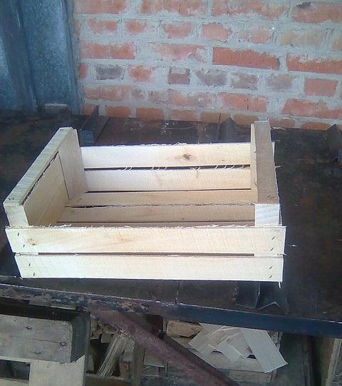 Купить Ящики деревянные для слив