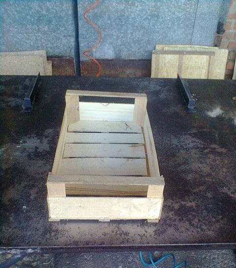 Купить Ящики деревянные для рыбы