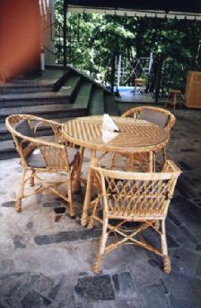 Набор плетеной мебели Пальмира-1