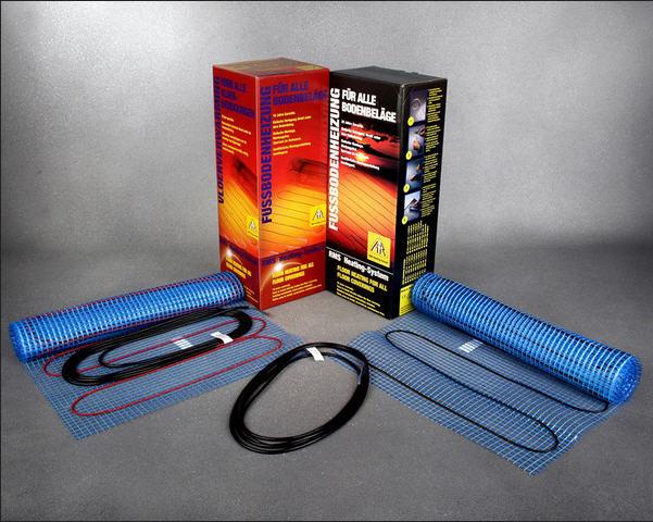 Тёплый пол под ламинат, Нагревательные маты  одножильные FHL 2110, 200 Вт/кв.м., 220-230 V