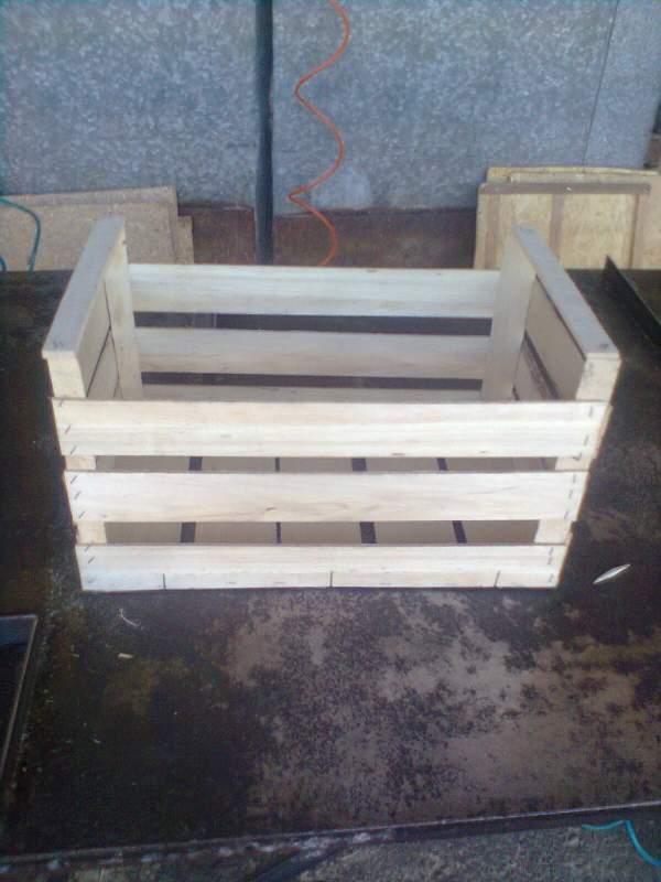 Купить Тара деревянная. Ящики деревянные для яблок, груш
