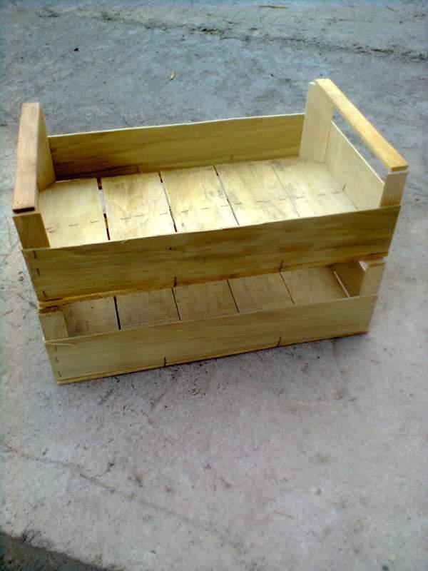Купить Тара деревянная. Ящики деревянные для черешни