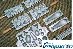пресс-форма для технопланктона чертеж