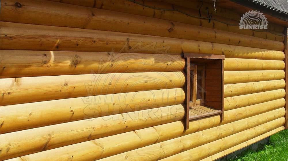 Блок хаус для строительства хозяйственных построек (деревянные будки для собак, туалеты, бытовки и вагончики)