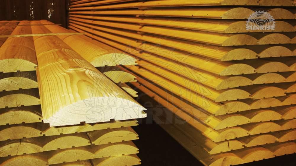 Блок хаус сосновый клееный 20 мм х 118/146 мм х 2,0-6,8 м