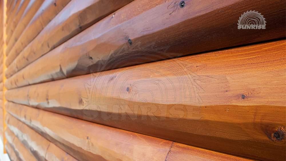 Купить Блок хаус сосновый клееный 28 мм х 95/115/160 мм х 2,0-6,8 м