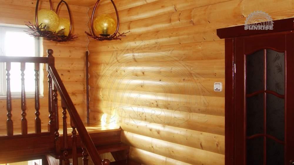 Блок хаус сосновый клееный 34 мм х 106/146 мм х 2,0-6,8 м
