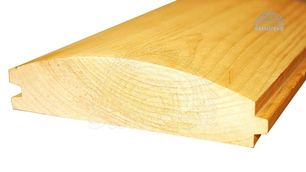 Блок хаус сосновый цельный 20 мм х 118/146 мм х 2,85-4,5 м