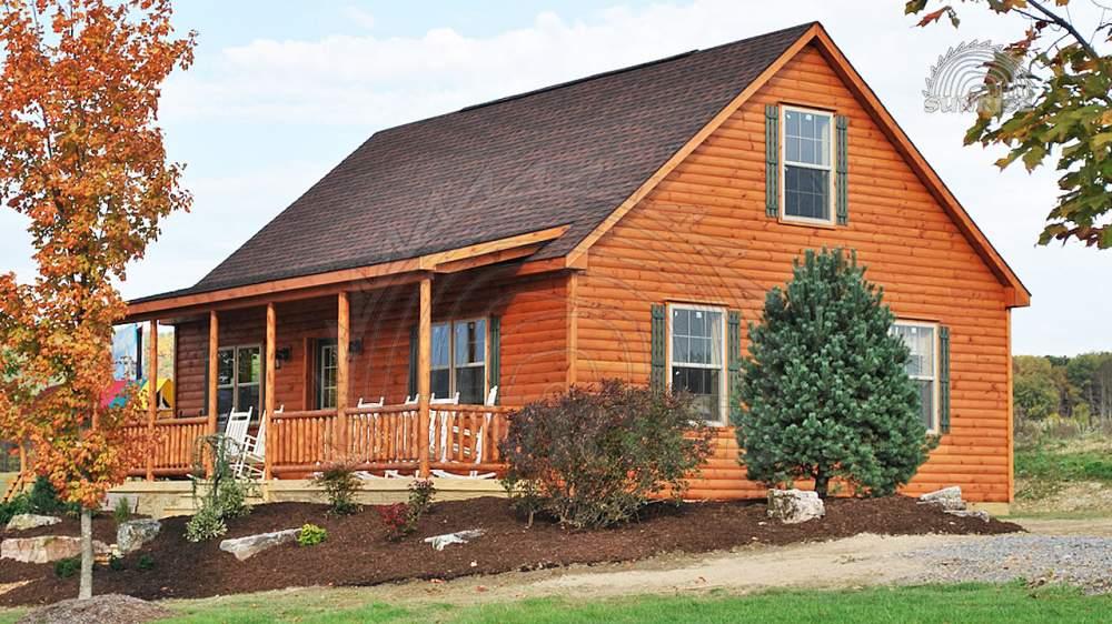Блок хаус сосновый, цельный, для облицовки каркасных домов 45 мм х 108/140/195 мм х 4,55-7,00 м