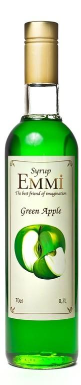 Сироп для коктейлей Зелёное яблоко ТМ  ЕММІ