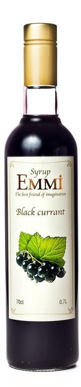 Сироп для коктейлей Чёрная смородина ТМ  ЕММІ