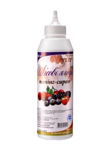 Топпинг-сироп Лесная ягода ТМ  Sweet Madam