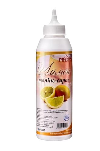 Топпинг-сироп Лимон ТМ  Sweet Madam Украина