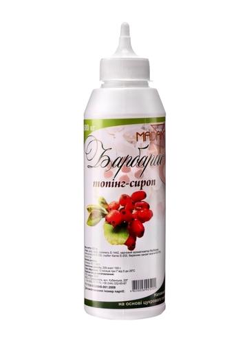 Топпинг-сироп Барбарис  ТМ  Sweet Madam
