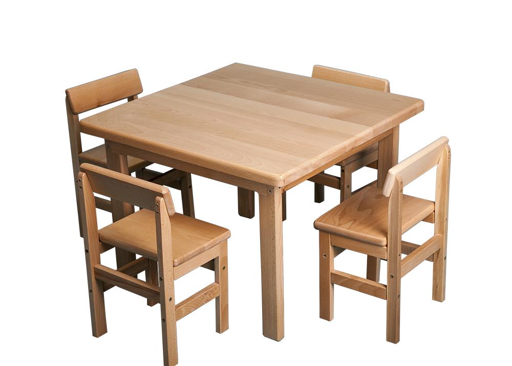 детский стол и стул сосновый купить в киеве