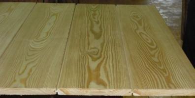 Вагонка из хвойных пород древесины для отделки бань