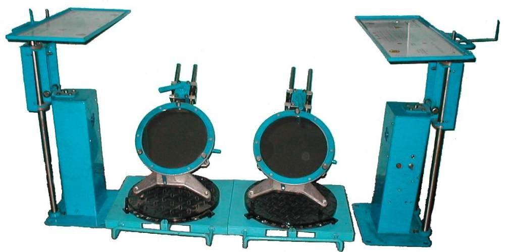 Лазерный стенд для контроля углов установки колёс автомобиля «Луч»