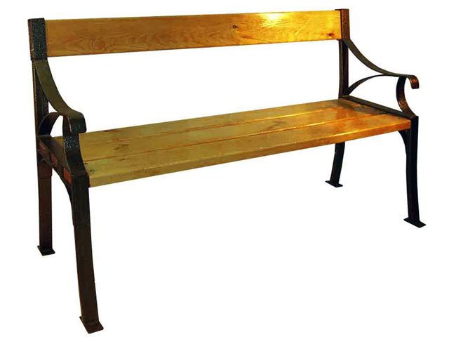 Buy The bench is garden, Benches metal, the Bench garden to buy, the Bench garden from the producer