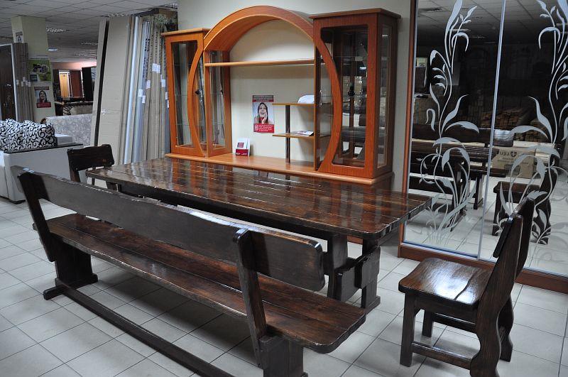 Деревянная мебель из массива на заказ