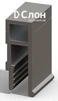 Купить Алюминиевый профиль П-212 для натяжных потолков