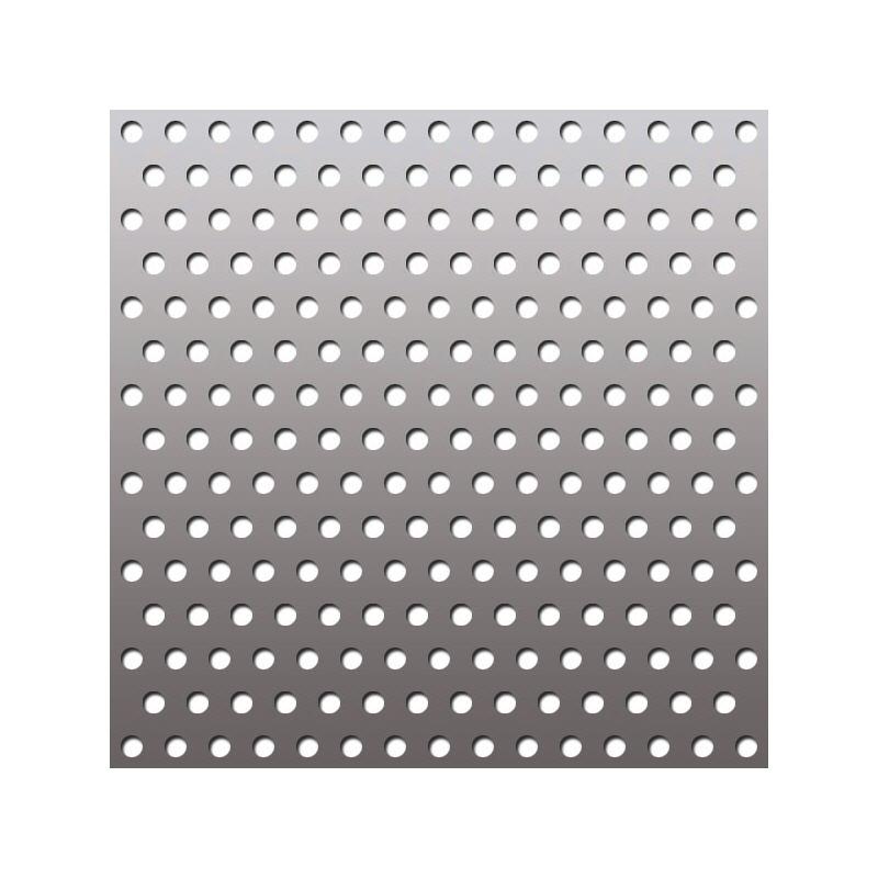 Листы перфорированные (сталь нержавеющая, черный металл, алюминий)