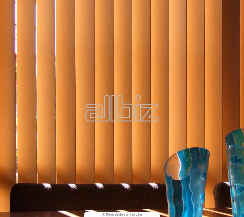 Жалюзи оконные, горизонтальные, алюминиевые, деревянные