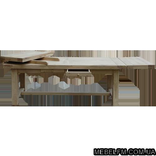 Купить Стол из натурального дерева Fermer 1800(+2*500)*950*765 мм