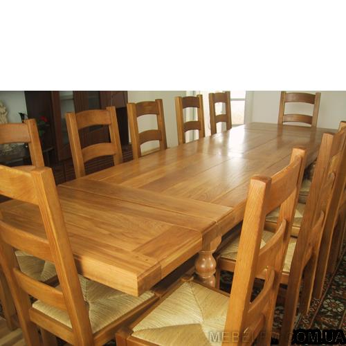 Купить Стол из массива дуба Fermer C для теплых семейных, дружеских встреч, а также для деловых переговоров экспорт
