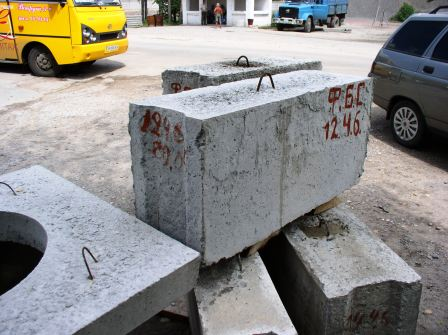 Buy Blocks reinforced concrete for walls and cellars of GOST 13579-78 and others concrete goods