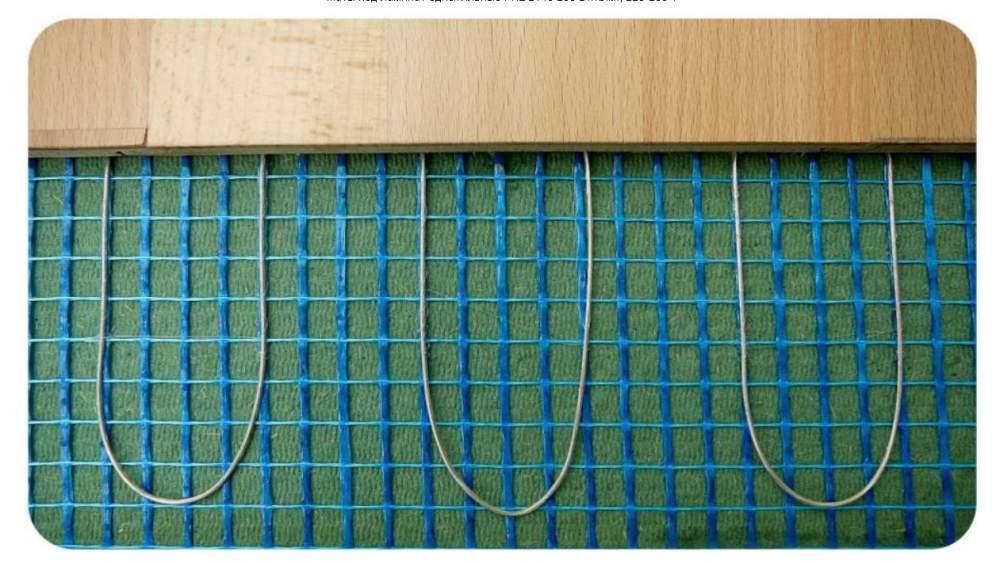 Тонкие электрические нагревательные маты (вариант LAMINAT)