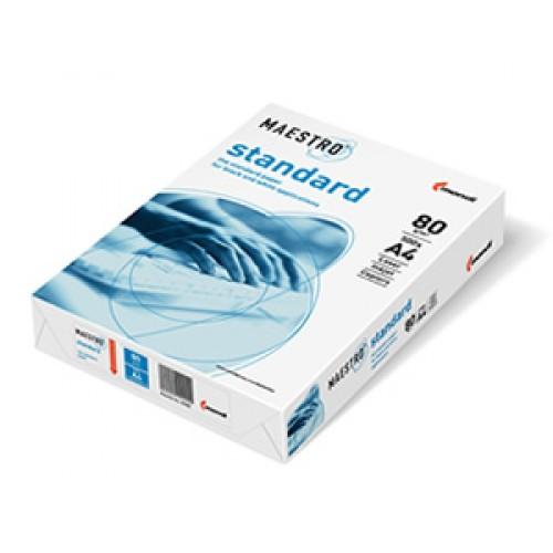 Бумага Maestro Standart, A4, 80г/м2, 500 арк.,