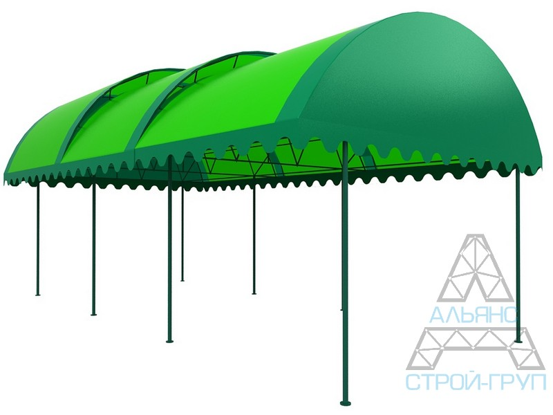 Canopies from polycarbonate. Canopy 12