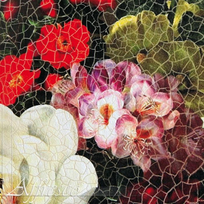 Купить Patina (Патина) - имитирует потресковшуюся керамику, фарфор. Размер полотна без стыка 1,5м*9м и 2,6м*5,9м.