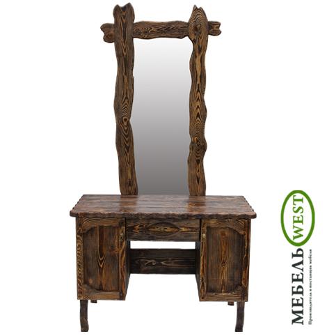 Мебель под старину, Трюмо с зеркалом
