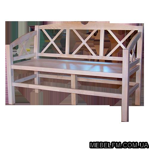 Купить Мебель из натурального дуба лавка Ассоль