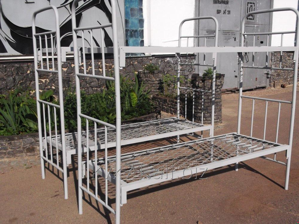 Iron beds army two-story