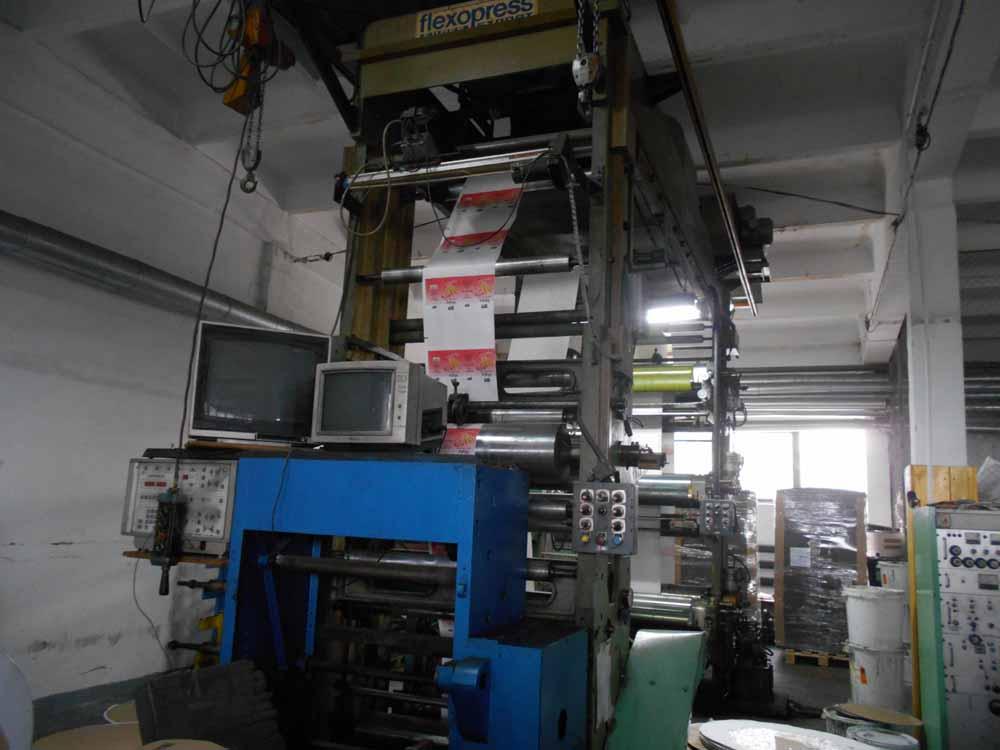 Купить Флексопечатная машина MAF 6-цветная